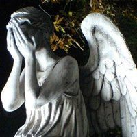 Weeping Angel Doctor WhoCross stitch pattern in by Fairygarden25