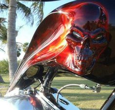 wicked air brush job   #Follow me on Bikes If You Like What You See 4 Way More ! ¡ !