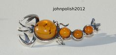 Baltic Amber Lobster Brooch with Silver 925 | Jewelry & Watches, Fine Jewelry, Fine Pins & Brooches | eBay!