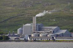 Port Ellen maltings and distillery, Isle of Islay