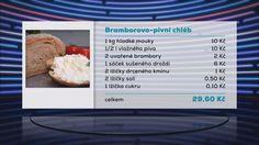 Bramborový pivní chléb