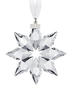 Swarovski 2013 Annual Edition Crystal Star Ornament Made in Austria Limited edition to 2013 Great gift for Newborn, Wedding or any Christmas ornament collector Swarovski Christmas Ornaments, Swarovski Snowflake, Crystal Snowflakes, Swarovski Crystals, Christmas Store, Noel Christmas, Great Christmas Gifts, Magical Christmas, Christmas Things