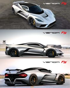 "Hennessey Venom F5 Concept.  Hennessey is a horrible person that built a horrible company by stealing everything he could from his customers. ""Behind every great fortune lies a great crime"""