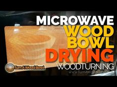 (753) Microwave Drying Wood Bowl Blank Woodturning Video - YouTube Woodturning Videos, Bowl Turning, Wood Bowls, Clouds, Wooden Bowls