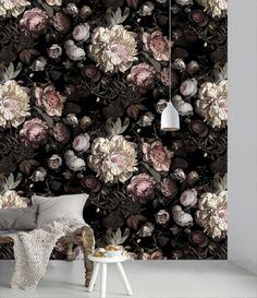 flower wallpaper by Ellie Cashman Design