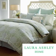 Laura Ashley Lillian Quilted Cotton 4-piece Comforter Set