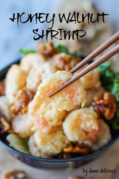 Easy to make Honey Walnut Shrimp Recipe ~ I love shrimp!