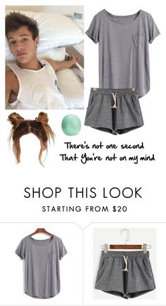 """Cuddling with Cam!"" by be-robinson ❤ liked on Polyvore featuring WithChic and Eos"
