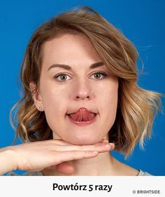 The better way to get rid of a double chin is generally through diet and exercise. If you would like to lose weight your chin area, there are several Yoga Facial, Facial Muscles, Fitness Workouts, Reduce Double Chin, Double Chin Exercises, Lose Weight In Your Face, Lose Fat, Face Exercises, Aerobic Exercises