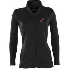 Antigua Women's Arizona Leader Black Full-Zip Jacket, Size: Medium, Team