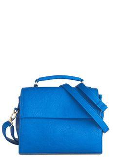 Too Good to Be Blue Bag, #ModCloth