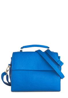 Too Good to Be Blue Bag from modcloth $27