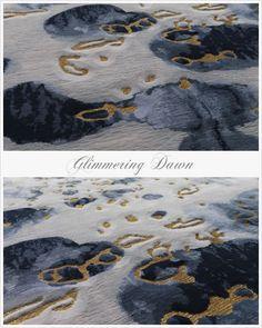 Fort Street Studio special edition silk rug - Glimmering
