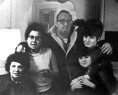 Lee Staum Goldberg with Brana Irv Carol Linda & Fay Pinsky at Stu & Fay's for Thanksgiving dinner 1960's by Stu Pinsky | by reel3d1