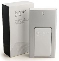 Higher  Dior for men - Top notes are peach, basil, lemon and pear; middle notes are rosemary, spices and cypress; base notes are musk and pear wood.