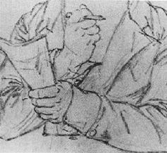 Ludwig van Beethoven (1770-1827), pencil drawing (1818), by August von Klöber (1793-1864).