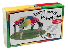 Small World Toys offer the best Loop-To-Loop Parachute. This awesome product currently 2 unit available, you can buy it now for $29.99 $26.99 and usually ships in 24 hours New Buy NOW from Amazon » : http://itoii.com/B0002QYNCI.html