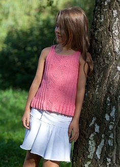 Girl's Top knitting pattern