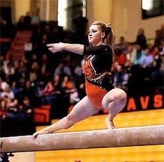 MCSMaria's Artistic Gymnastics Blog: Maddie Gardiner's Glorious Beam Series