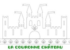 couronne chateau Pretty Drawings, Beautiful Drawings, Chateau Moyen Age, Knight Party, Château Fort, Party Rock, Princess Theme, Cute Clipart, Medieval Knight