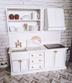 Miniature Kitchen - craftIdea.org