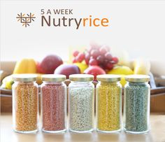 Add some color to your favorite dishes with NUTRYRICE! Check it our for a special price!