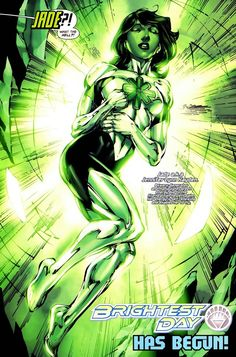 Jade Brightest Day