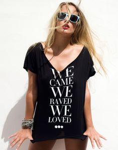 Swedish House Mafia - We Came We Raved We Loved tee