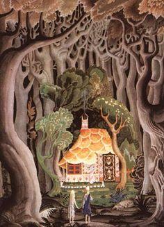 Hansel and Gretel  by Kay Nielsen