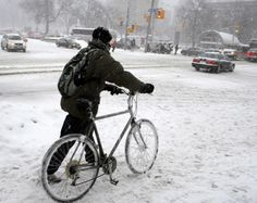 Winter Biking: Time to Get Prepared