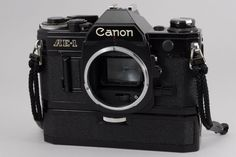 [Exc+++]Canon AE-1  Camera w/POWER  WINDER A From Japan #53-3406577 #Canon