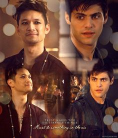 """#Shadowhunters 2x18 """"Awake, Arise, or Be Forever Fallen"""" - Magnus and Alec"""