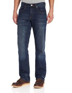 Lee Men's Modern Series Relaxed Straight Jean, Blue Blood