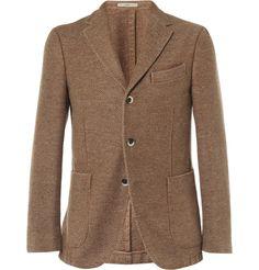 BoglioliCoat Slim-Fit Unstructured Herringbone Wool-Blend Blazer|MR PORTER