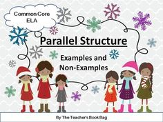 Parallel Structure: PowerPoint, Worksheets, Tests | Worksheets ...