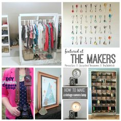 The Makers Link Party | Link Up your Creative Projects and be inspired by other bloggers. Creativity is Contagious, Pass it on! #linkparty #themakers #linkpartyfeatures