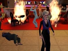Whenever everything burst into flames and one of the Sims really enjoyed it. | The 29 Weirdest Things Ever To Happen When Playing The Sims