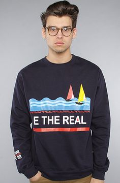 ONLY Real Crewneck by E The Real, $60