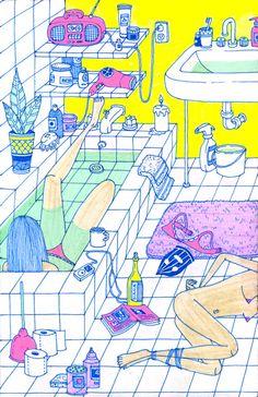kliuwong: I haven't taken a bubble bath in ages.