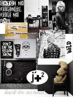 Méchant Design: 'back to school' moodboard ✚ ✚ ✚