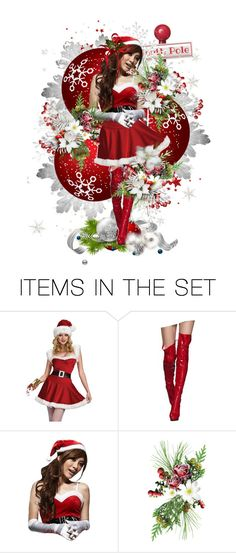 """""""Vision from the North Pole"""" by sjk921 ❤ liked on Polyvore featuring art"""