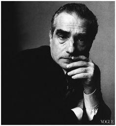 Martin Scorsese by Irving Penn