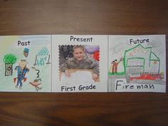 Make a time line with your child-- he/she will love to draw and look at baby pictures with you.