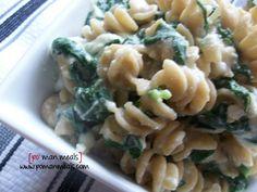 creamy ricotta and spinach pasta