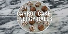These devilishly-good Carrot Cake Shakeology Energy Balls really taste like carrot cake, and they're only 90 calories. Get the Recipe! These devilishly-good Carrot Cake Energy Balls really taste like carrot cake, and they're only 90 calories each! Shakeo Mug Cake, Shakeology Mug Cake, Vanilla Shakeology, P90x, Healthy Treats, Healthy Desserts, Healthy Recipes, Protein Recipes, Healthy Tips