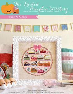 Sweet As Pie PDF Cross Stitch Pattern