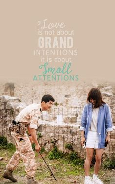 Animated gif about gif in Dramas / Movies 🎬 by Pop's ≧﹏≦♡ Korean Drama Best, Goblin Korean Drama, Korean Drama Quotes, Desendents Of The Sun, Descendants Of The Sun Wallpaper, Song Joon Ki, Songsong Couple, Drama Fever, Sun Quotes