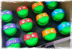 Gigi's cupcakes TMNT