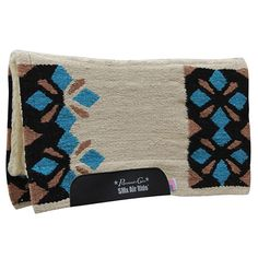 "Sparkle Air Ride Saddle Pad with 1/2"" breathable core."