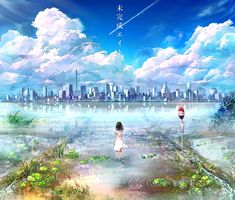 Read Anime phong cảnh + Anime girl from the story ♥ Anime + My Art ♥ by with 734 reads. Animation Background, Art Background, Fantasy Landscape, Fantasy Art, Beautiful Drawings, Beautiful Pictures, Beautiful Scenery, Disney Stitch, Lilo Stitch